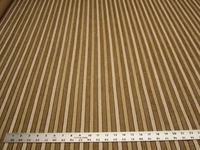 1 3/8 yards of Kravet stripe chenille upholstery fabric