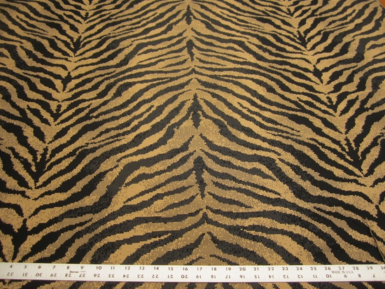 1 5/8 yards Kravet animal skin patterned upholstery fabric