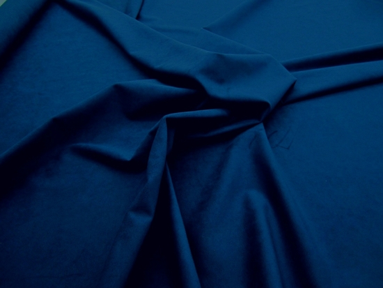 1 5/8 yards of Genuine Ambiance HP Ultrasuede Color 2330 Indigo Blue