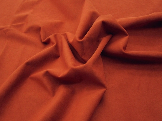 1 7/8 yards of Genuine Ambiance HP Ultrasuede Color 8253 terracotta