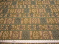1 7/8 yards of quality southwest upholstery fabric