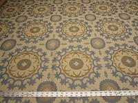 "1 7/8 yards Robert Allen ""Roman Circle"" upholstery Fabric"