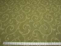 10 1/2 yards of scroll pattern crypton upholstery fabric