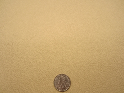 10 1/4 yards butternut pebble grained vinyl upholstery fabric