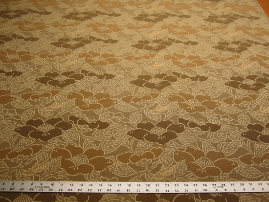 10 yards of flower pattern crypton upholstery fabric