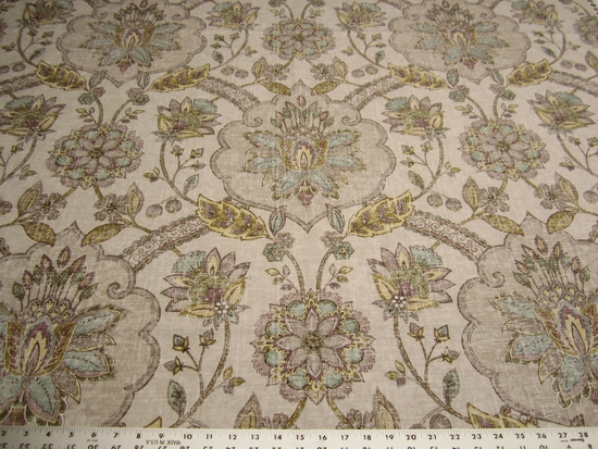 10 yards P. Kaufmann Andalucia Mist cotton print fabric
