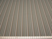 11 1/2 yards blue stripe crypton upholstery fabric