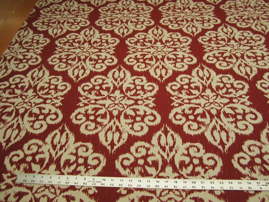 11 1/2 yards Lacefield Spicer Printed Damask Drapery/Upholstery fabric