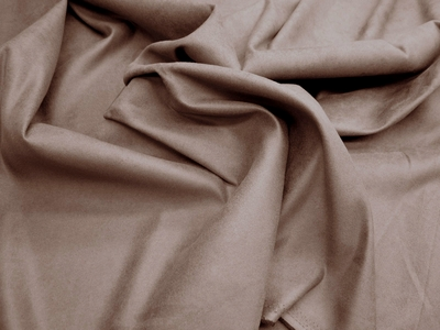 11 yards of brown suede upholstery fabric color earth