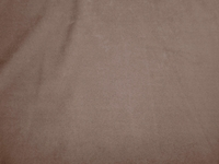 14 1/2 yards of brown suede upholstery fabric color earth