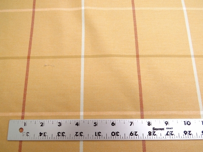 "19 3/8 yards of Marlatex ""Venue"" block pattern upholstery fabric"
