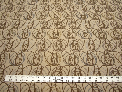 2 1/2 yards Bangles heavy duty contemporary upholstery fabric color metal