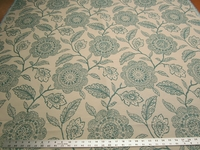 2 1/2 yards Dominica color mist Bella Dura upholstery fabric
