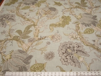 2 1/2 yards Fabricut Zoysia Mineral upholstery and drapery fabric