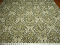 2 1/2 yards Swavelle Arya heavy damask upholstery fabric
