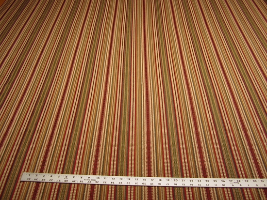 2 1/4 yards of Kravet Chenille mix stripe upholstery fabric r1948