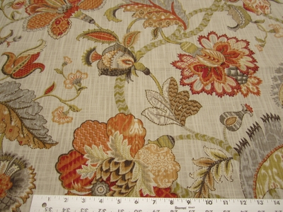 2 1/4 yards of P. Kaufmann Finders Keepers Spice cotton print fabric