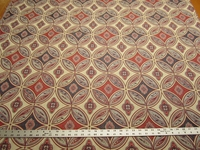 2 1/4 yards Stroheim San Miguel Caliente Red upholstery fabric