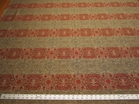 2 1/8 yds Flamenco Caliente Red upholstery fabric by Stroheim