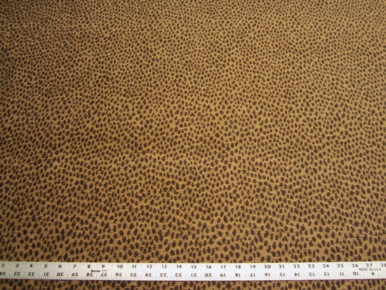 2 3/4 yards Kravet animal skin patterned upholstery fabric