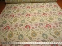 2 3/4 yards Kravet floral tapestry upholstery fabric