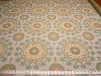 "2 3/4 yards Robert Allen ""Roman Circle"" upholstery Fabric"