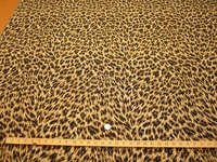 2 yards Leopard skin lurex tapestry upholstery fabric