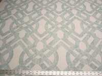 2 yards of Curves Seaglass upholstery fabric by P. Kaufmann