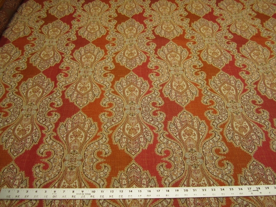 "2 yards of ""Derrington"" damask upholstery fabric"