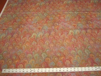 2 yards of Florentine Tropical Pink home decor fabric