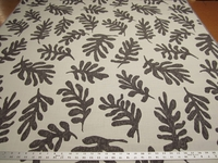 2 yards of Perennials Leaf Me To It - Balsamic 742-293 indoor-outdoor upholstery fabric r2875