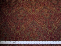 2 yards of Vineyard Perugia paisley upholstery fabric from Fabricut