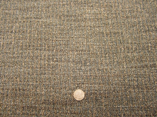2 yards Robert Allen Perfect Tweed indigo upholstery fabric