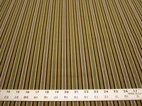 24 1/2 yards of artichoke green stripe slipcover or drapery fabric