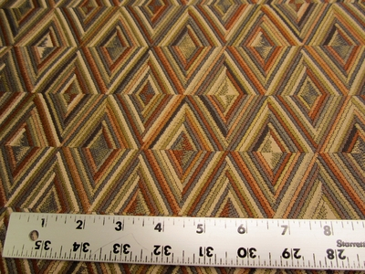 3 1/2 yards Mayapan fennel diamond upholstery fabric from Fabricut