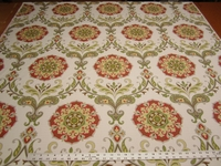 3 1/2 yards of Swavelle Mill Creek Barossa persimmon upholstery fabric