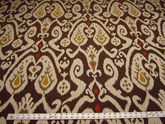 3 1/4 yards of Kravet ikat upholstery fabric