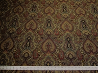 3 1/4 yards of Robert Allen Full Paisley upholstery fabric
