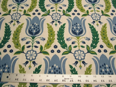 3 1/4 yards of Robert Allen Home Ornate Frame drapery fabric
