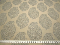 3 1/4 yards Okemo bluebell damask upholstery fabric by Robert Allen