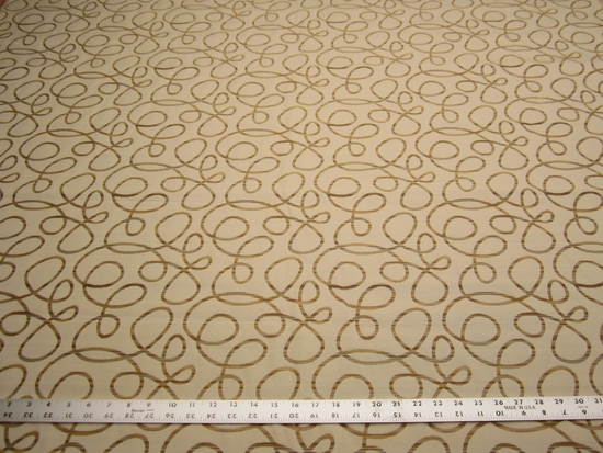 3 1/8 yards of Robert Allen Swirling High scroll upholstery fabric