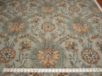 3 1/8 yards P. Kaufmann Andalucia Persian cotton print drapery fabric
