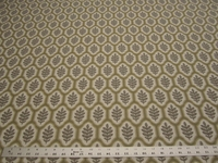 3 3/4 yards Stroheim Piedmont Leaf Harbor Grey upholstery fabric