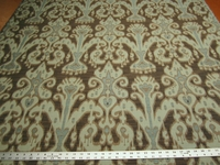 3 3/8 yards of Kravet Ikat design upholstery fabric