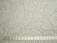 3 3/8 yards paisley print fabric for drapery or upholstery