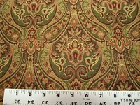 3 5/8 yards designer quality paisley upholstery fabric