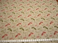 3 5/8 yards Fabricut Parfait Spring botanical upholstery fabric