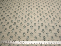 3 5/8 yards of Robert Allen Cloe Flora Cove upholstery fabric