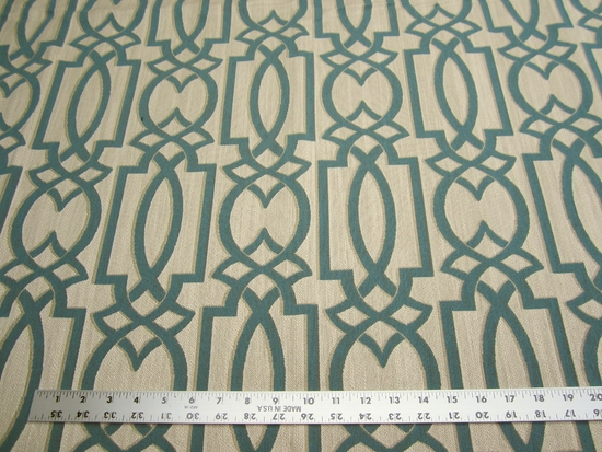 3 7/8 yards of Fabricut Pendulum geometric upholstery fabric