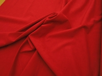 3 7/8 yards of Genuine Ambiance HP Ultrasuede Color 1334 tomato